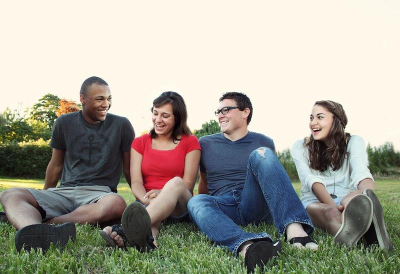 大学生の仲良しグループ