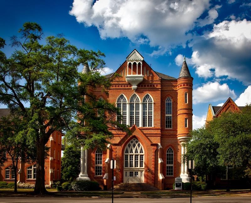 大学の建物