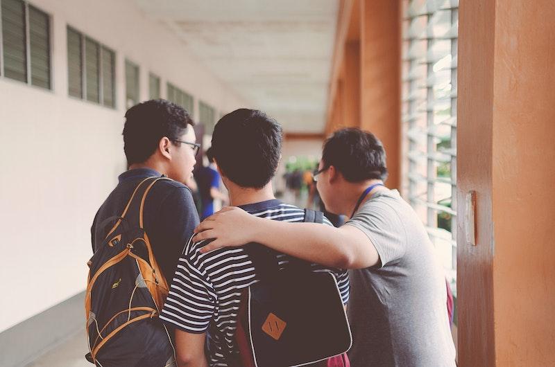 男子学生たち