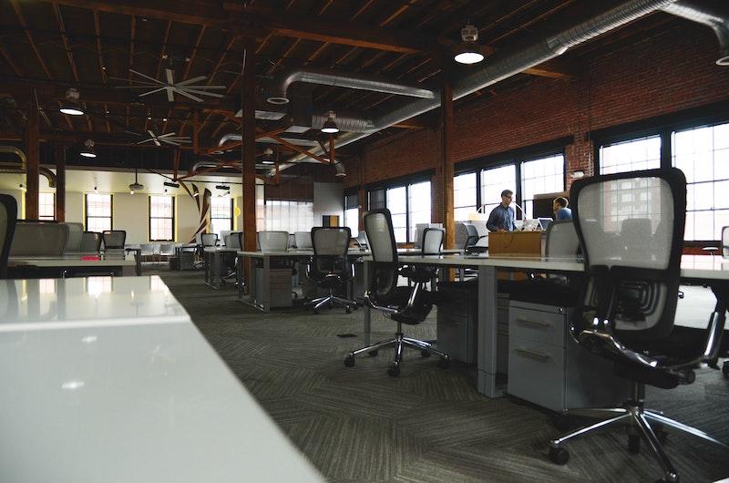企業のオフィス